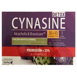 ¡Promoción 33% más! Cynasine Detox 30 ampollas.