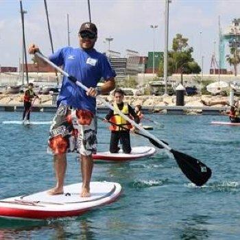 2x1 Clases de Paddle Surf en Barcelona