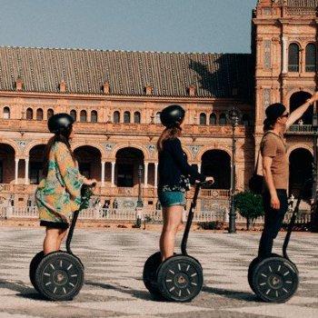 Tour Segway ruta de 3 horas por Sevilla