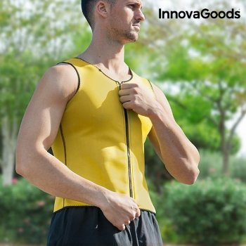Chaleco Deportivo con Efecto Sauna para Hombre InnovaGoods XL