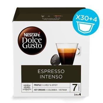 Cápsulas Nescafé Espresso Intenso (34 uds)