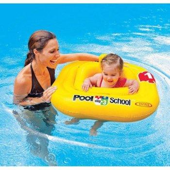 Flotador de bebé Intex 12+ meses (79 X 79 cm)