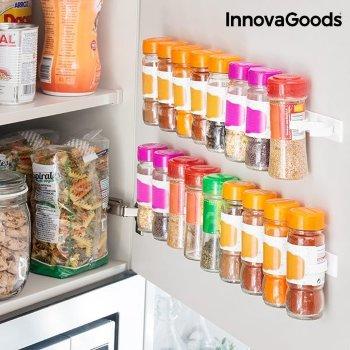 Organizador de Especias Adhesivo y Divisible Spice