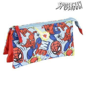 Estuche Escolar Spiderman Azul
