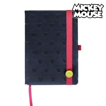 Cuaderno de Notas Mickey Mouse A5 Negro