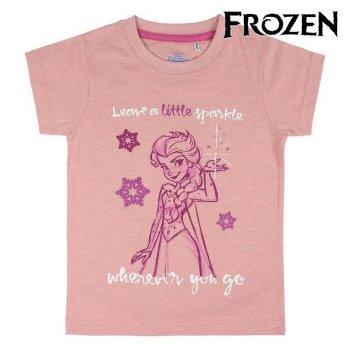 Camiseta de Manga Corta Infantil Frozen 73477