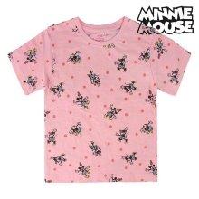 Camiseta de Manga Corta Infantil Minnie Mouse