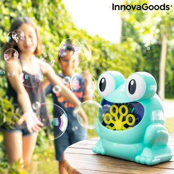 Máquina de Pompas de Jabón Automática Froggly InnovaGoods