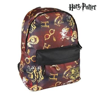 Mochila Escolar Harry Potter Burdeos