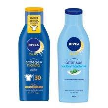 Set de Protección Solar Protege & Hidrata Nivea (2 pcs)