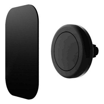 Soporte de Móviles Magnético para Coche Contact Negro
