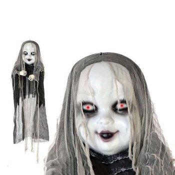 Fantasma Colgante Blanco Negro 119239 (183 Cm)