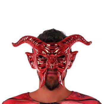 Máscara 117746 Demonio Roja