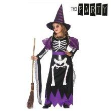 Disfraz para Niños Bruja Esqueleto