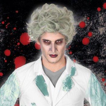 Peluca para Halloween Gris 116058