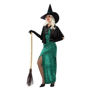 Disfraz para Adultos Bruja Verde