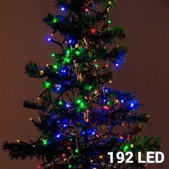 Luces de Navidad Multicolor (192 LED)