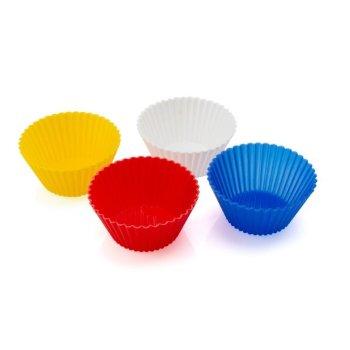Moldes de Silicona para Cupcakes (4 pcs) 143983