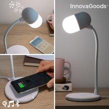 Lámpara LED con Altavoz y Cargador Inalámbrico Akalamp InnovaGoods
