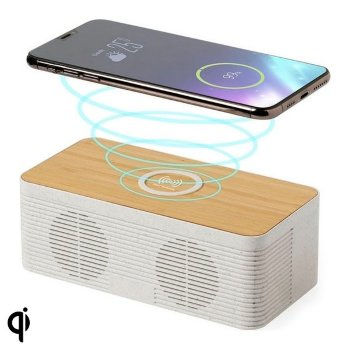 Altavoz Bluetooth con Cargador Inalámbrico 5W Bluetooth 146546