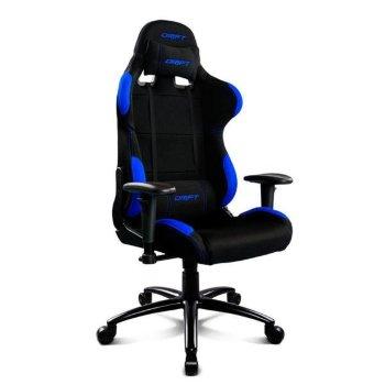Silla Gaming DRIFT DR100BL 90-160º Tela Espuma Negro Azul