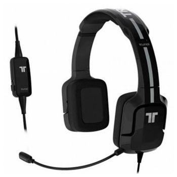 Auriculares con Micrófono Gaming Kunai Tritton ST24 Negro/blanco