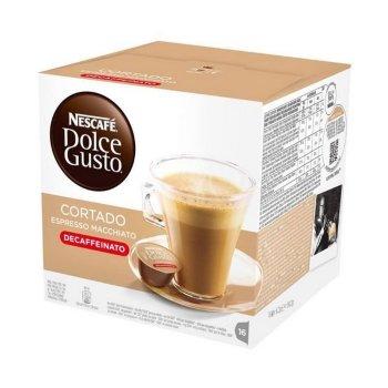 Cápsulas de Café Nescafé Dolce Gusto 94314 Espresso Macchiato Decaffeinato (16 uds)