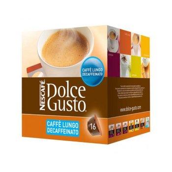 Cápsulas de Café Nescafé Dolce Gusto 94331 Caffè Lungo Decaffeinato (16 uds)