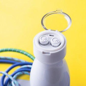 Botella Térmica con Auriculares Buetooth (580 ml)