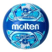 Balón de Voley Playa Molten V5B1300 Marino (Talla 5)
