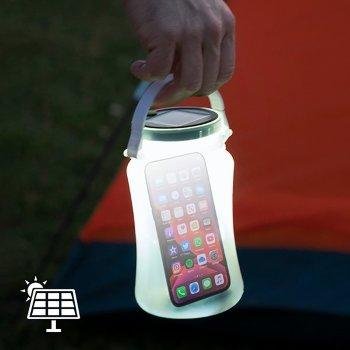 Bidón LED Solar de Silicona Partner Adventures
