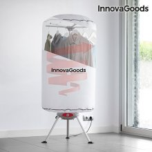 Secadora de Ropa Portátil InnovaGoods 1000W Blanco