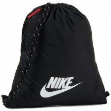 Bolsa Mochila con Cuerdas Nike heritage 2.0 Negro