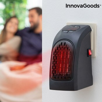 Calefactor Termocerámico de Enchufe HeatPod InnovaGoods 400W