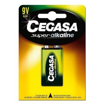 Pila Alcalina Cegasa 6LR61 9V