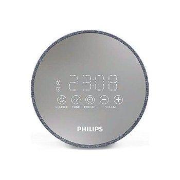 Radio Despertador Philips TADR402/12 FM Gris