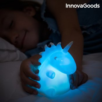 Lámpara Unicornio Multicolor LEDicorn InnovaGoods