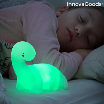 Lámpara Dinosaurio LED Multicolor Lightosaurus InnovaGoods
