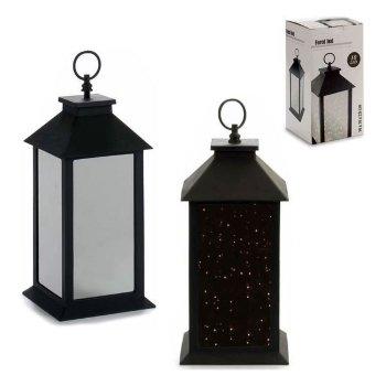 Farol LED Negro Plástico Espejo 10 (14 x 30 x 14 cm)