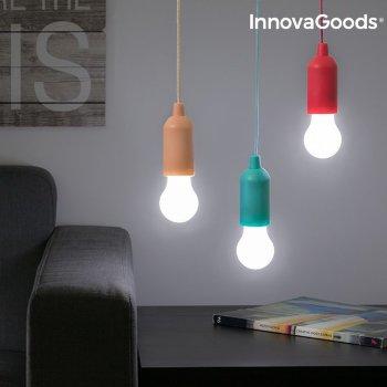 Bombilla LED Portátil con Cordón InnovaGoods