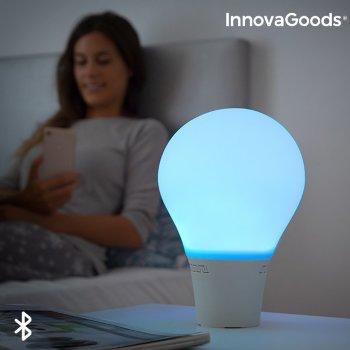 Lámpara Bombilla LED Táctil de Silicona con Altavoz Silitone InnovaGoods