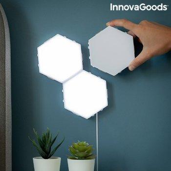 Set de Paneles LED Modulares Magnéticos y Táctiles Tilight InnovaGoods