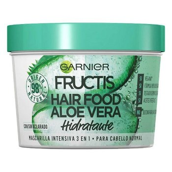 Mascarilla Capilar Fructis Hair Food Garnier (390 ml) Aloe vera
