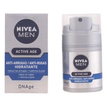 Crema Antiarrugas Men Active Age Nivea