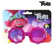 Gafas de Sol Infantiles Trolls Fucsia