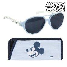 Gafas de Sol Infantiles Mickey Mouse Azul