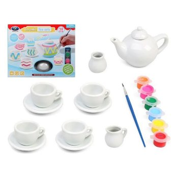 Set de Manualidades Ceramic DIY 119954 (14 pcs)