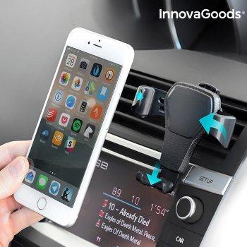 Soporte Gravitatorio de Móviles para Coche InnovaGoods