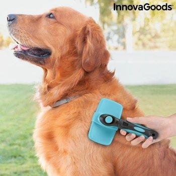 Cepillo de Limpieza para Mascotas con Púas Retráctiles Groombot InnovaGoods
