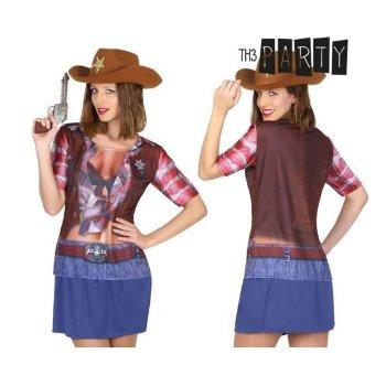Camiseta para adultos 6674 Vaquera Talla M/L